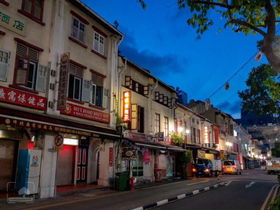 Singapur - Chinatown naranem