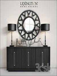 Lexington Targa Buffet Amp Esprit Round Mirror