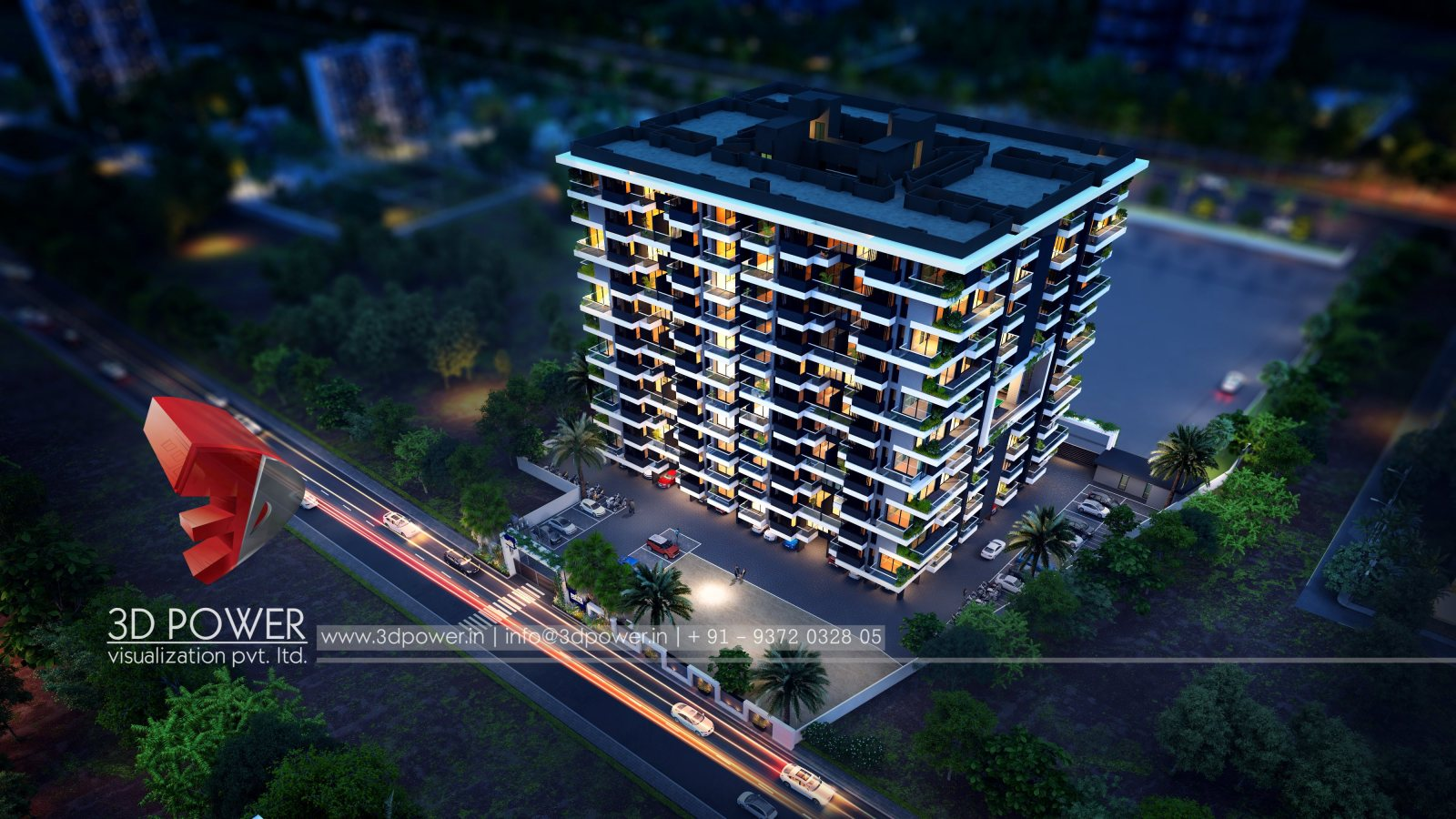 architectural-3drendering-architectural-design-apartment-night-view-birds-eye-view