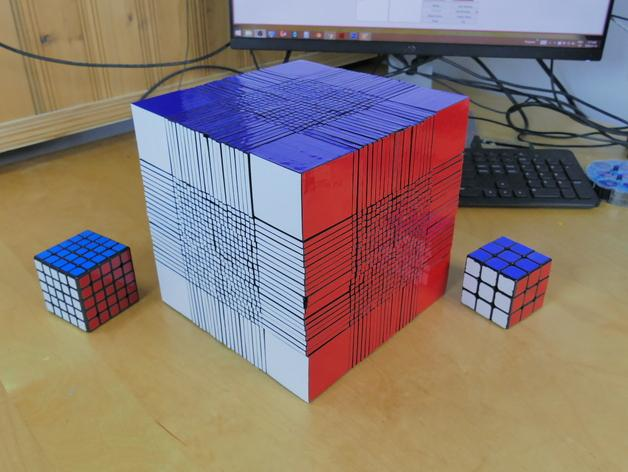 An Amazing 3D Printed Robot Can Solve The Rubiks Cube In