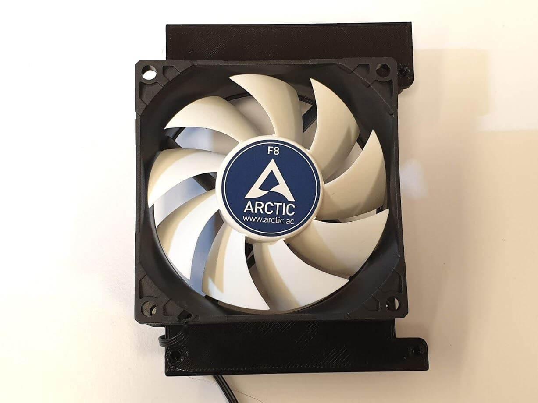 80 mm adapter 2 | CR-10s Pro upgrade - 80mm motherboard fan mount