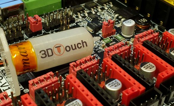 How to add 3D Touch (BLTouch clone) to the CR-10S PRO - 3D