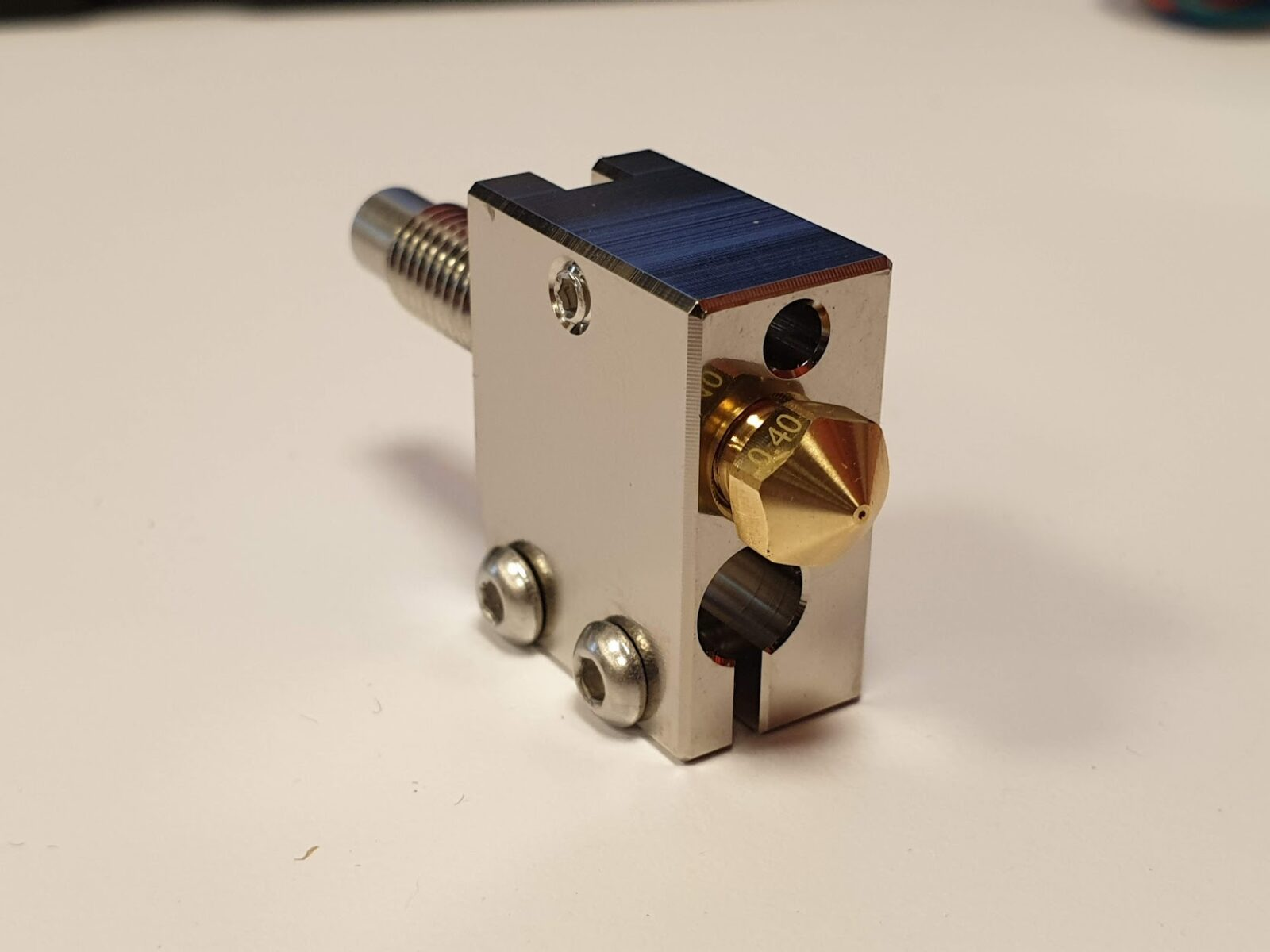 Plated Copper Volcano Heat Block 2 | All-Metal BMG Direct Drive Extruder - My New Favorite