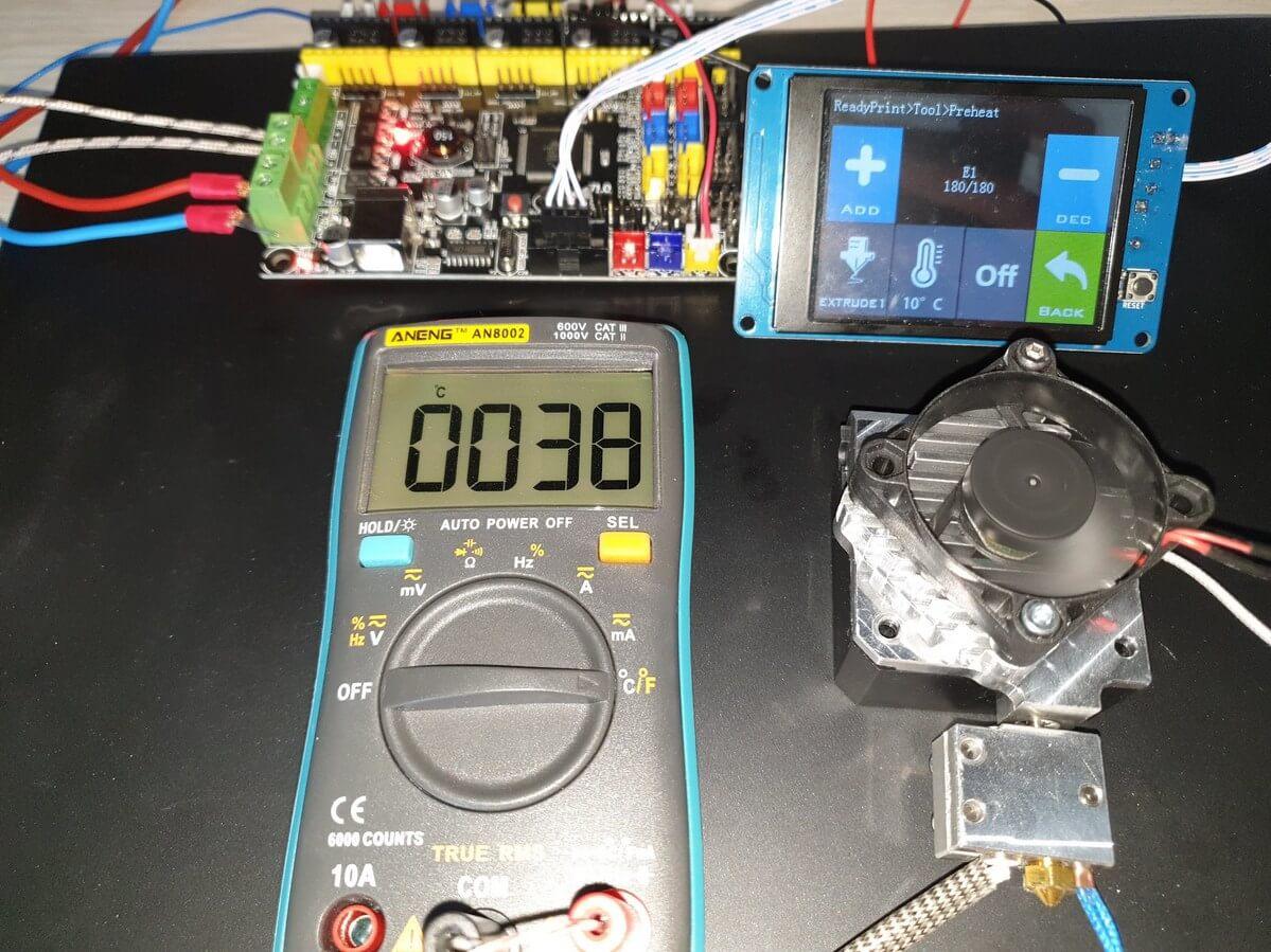 180C Regular Metal with Titan Aero 10 minutes 38C