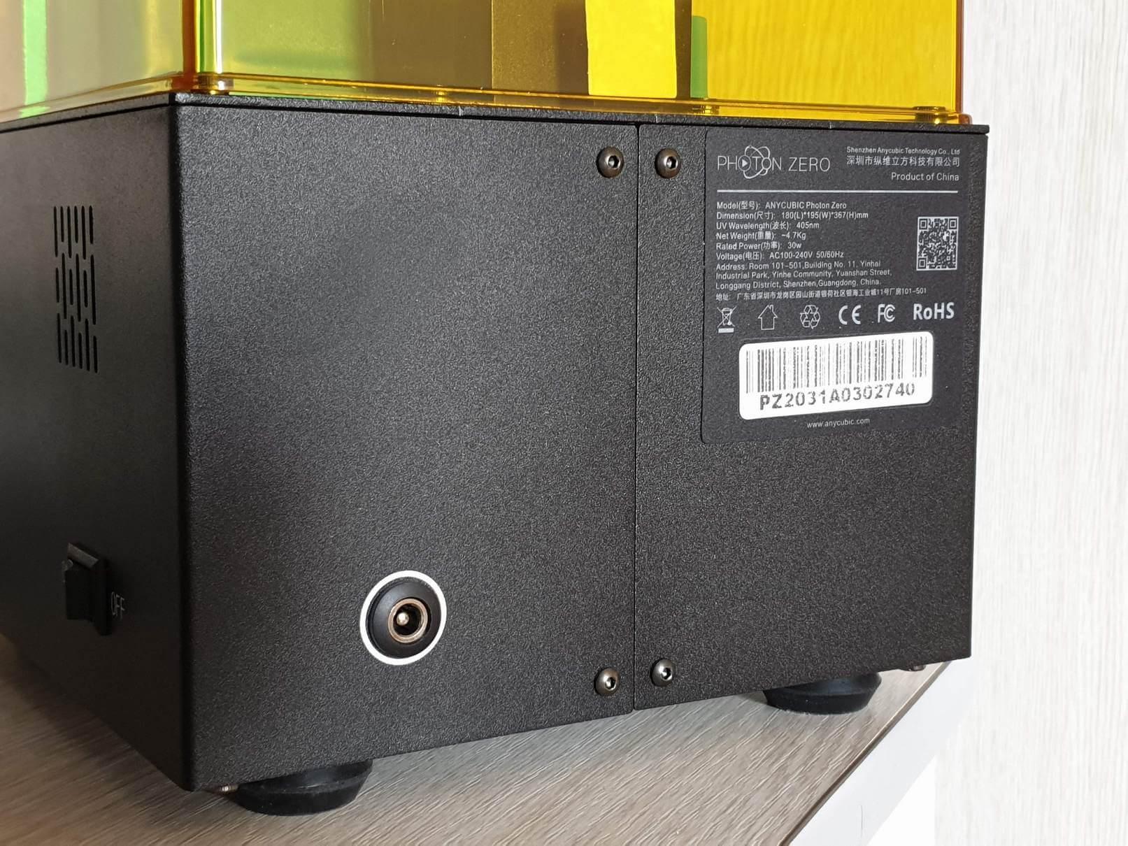 Anycubic Photon Zero Budget Resin Printer 4   Anycubic Photon Zero Review - Budget Resin Printer