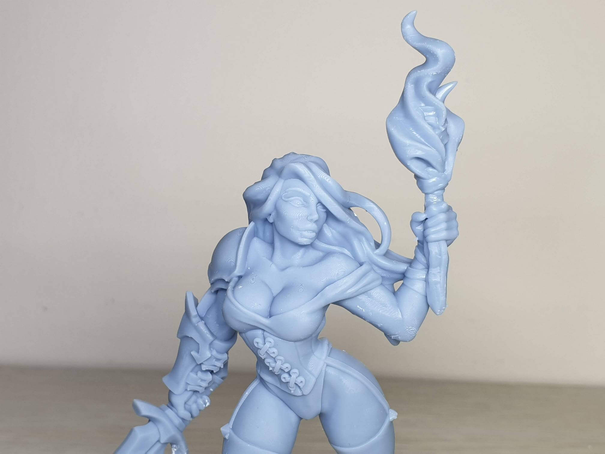 Elena - Fighters Guild Beauty - Sonic Mini review