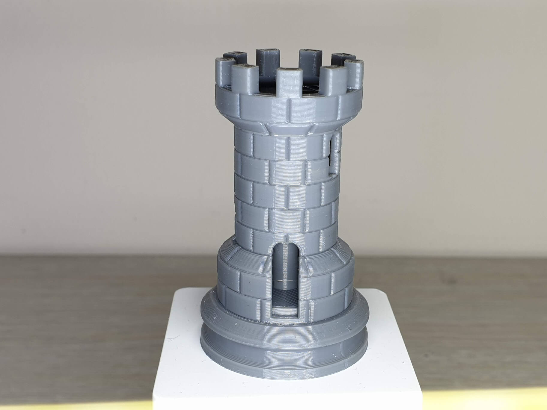 Rook with IdeaMaker Profile on Artillery Genius 1 | IdeaMaker Profiles for Sidewinder X1 and Genius