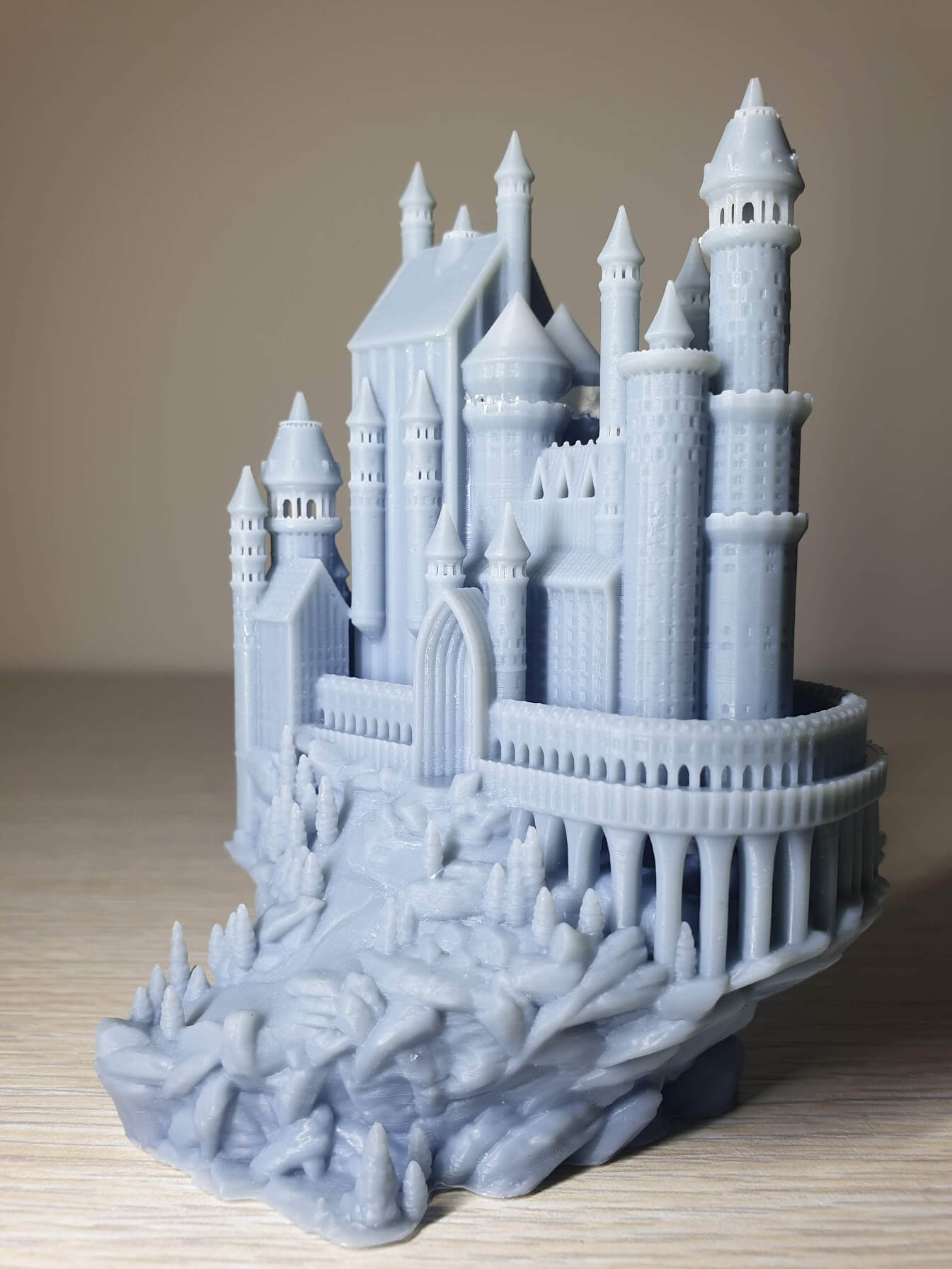 Creality-LD-002R-Review-Medieval-castle-2