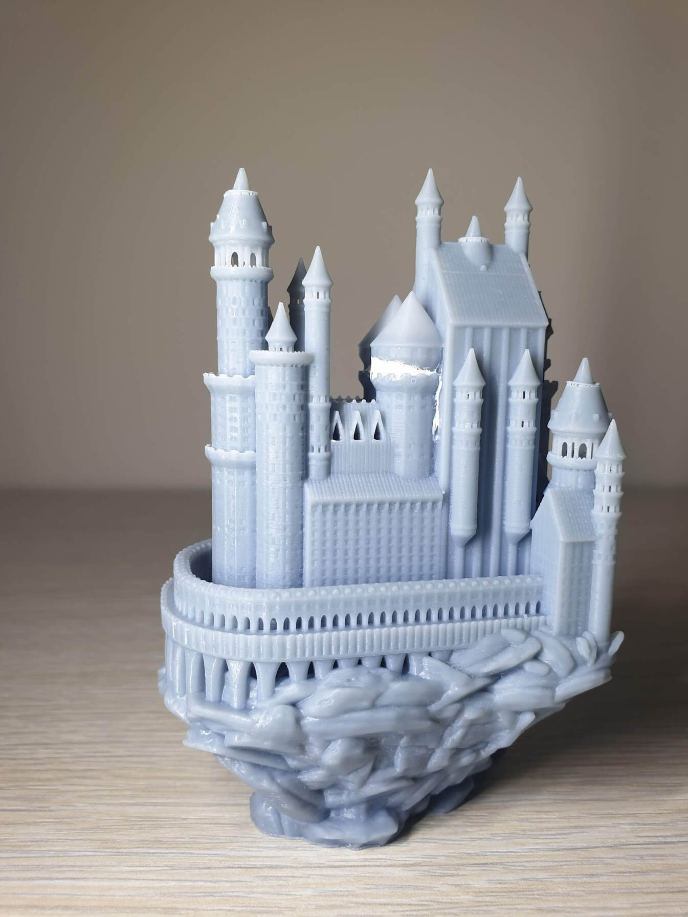 Creality-LD-002R-Review-Medieval-castle-3
