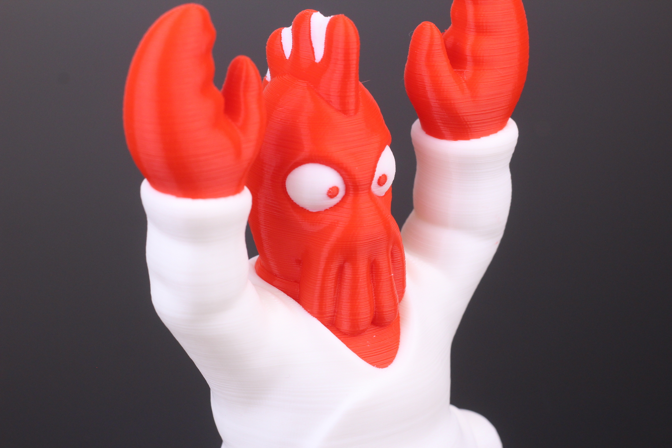 Zoidberg-printed-on-Tenlog-TL-D3-Pro-IDEX-3D-Printer-3