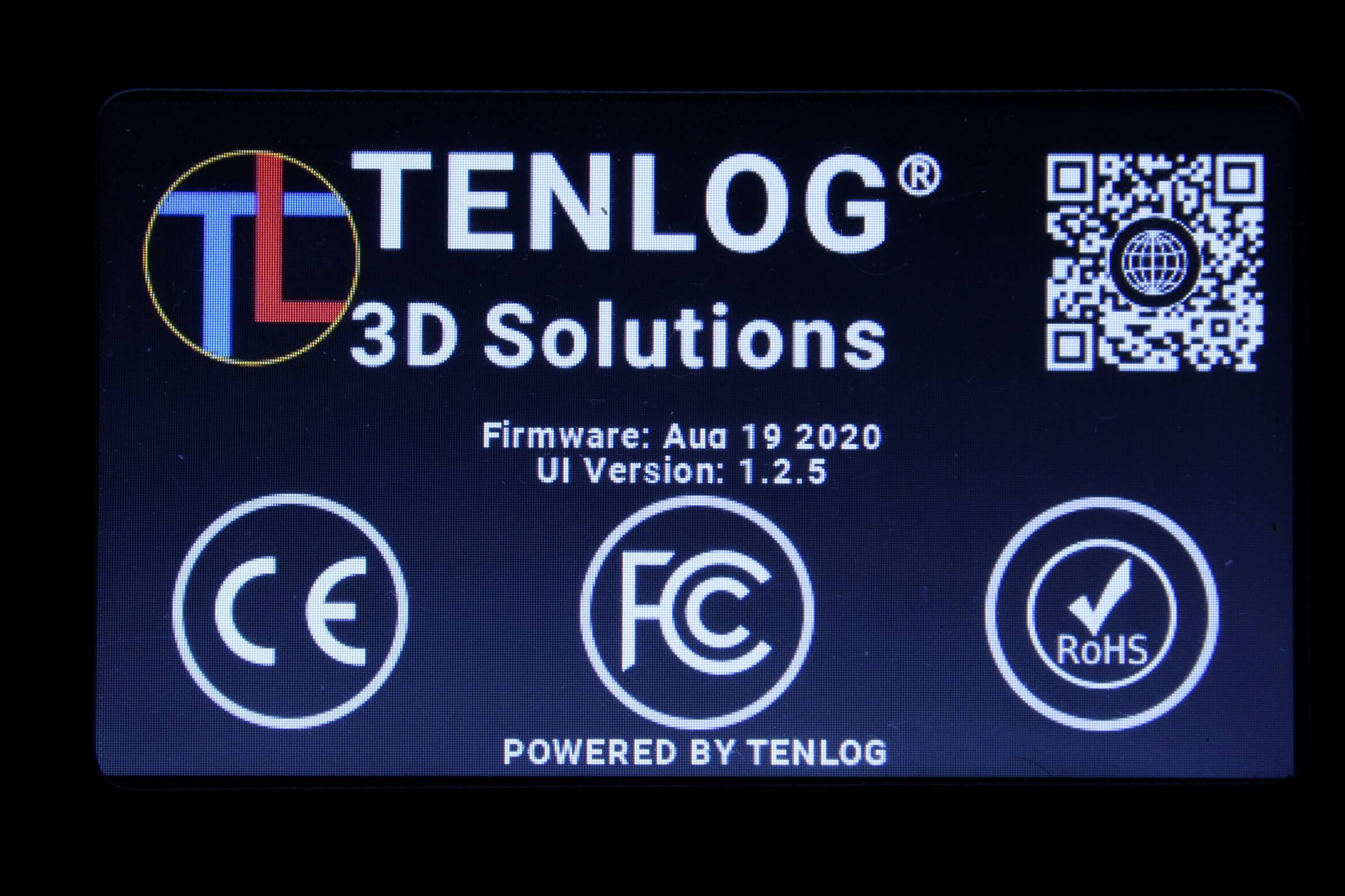 Tenlog TL D3 Pro Screen Interface 2 | Tenlog TL-D3 PRO Review: IDEX on a Budget