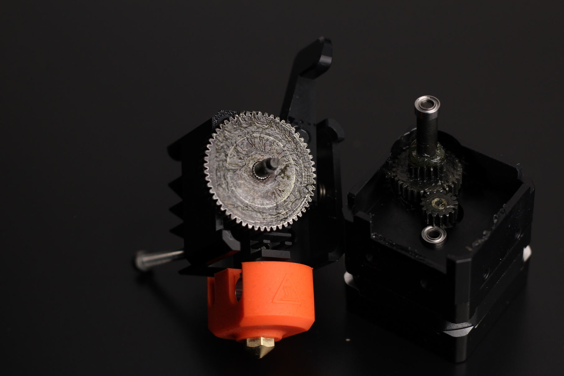 BIQU H2 Gear Issues Grease | BIQU H2 Extruder Review: Lightweight Direct Drive Extruder