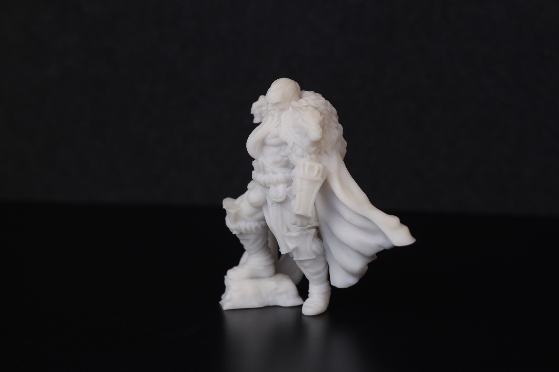 Barbarian Chieftain printed on Anycubic Photon Mono X 8 | Anycubic Photon Mono X Review - Large Format Resin 3D Printer