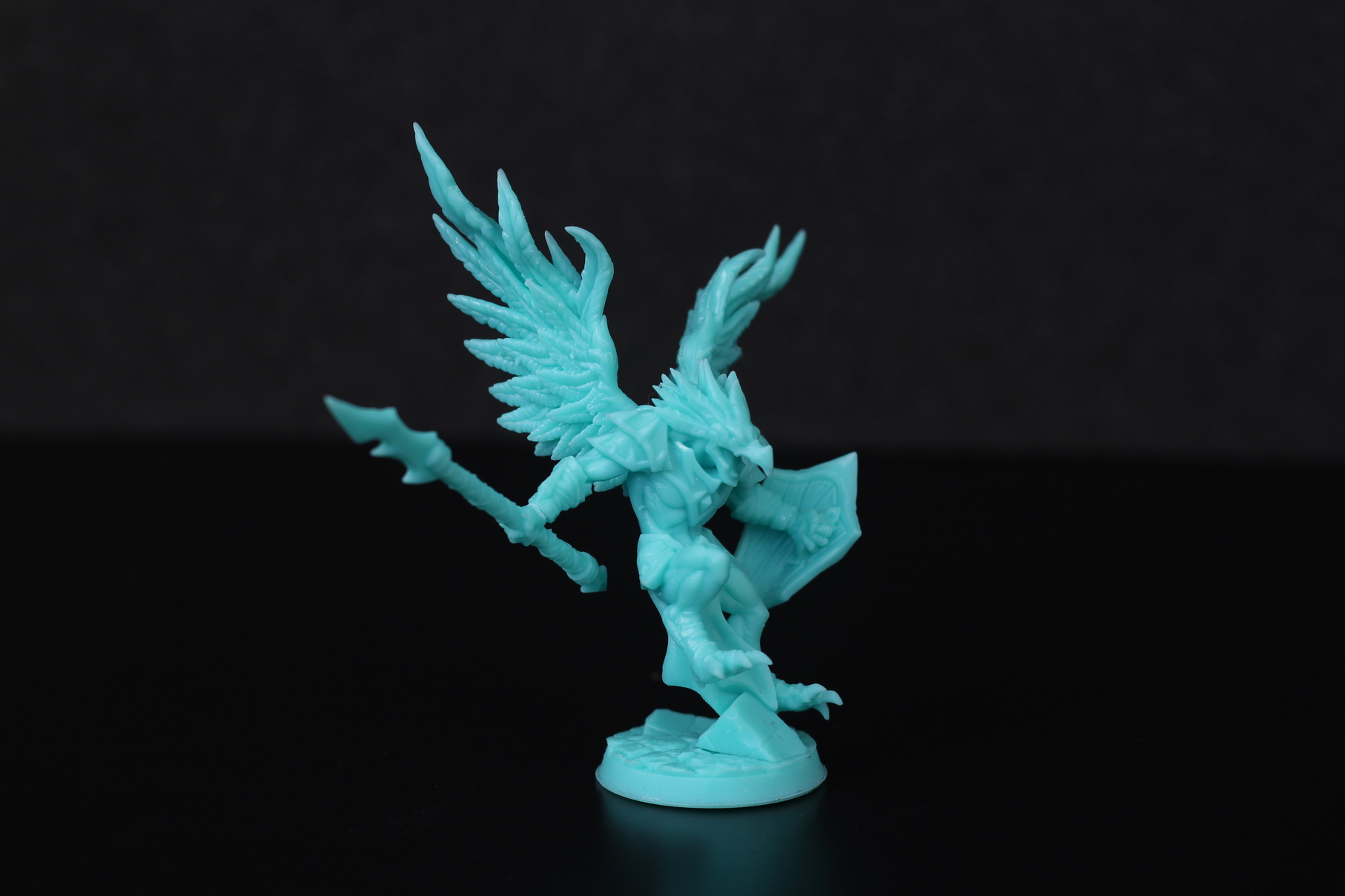 High Gryphkin printed on Anycubic Photon Mono X 2 | Anycubic Photon Mono X Review - Large Format Resin 3D Printer