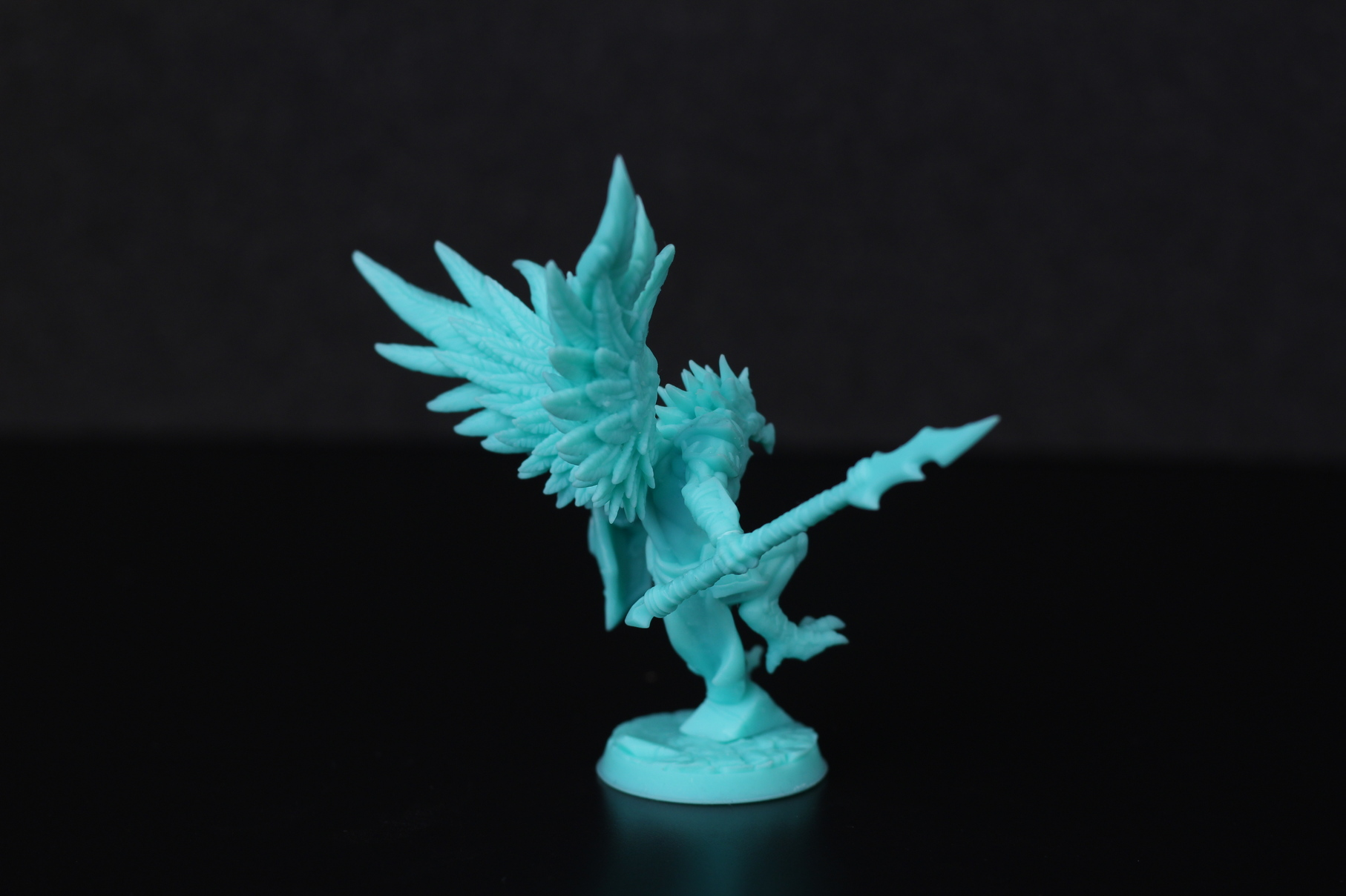 High Gryphkin printed on Anycubic Photon Mono X 3 | Anycubic Photon Mono X Review - Large Format Resin 3D Printer