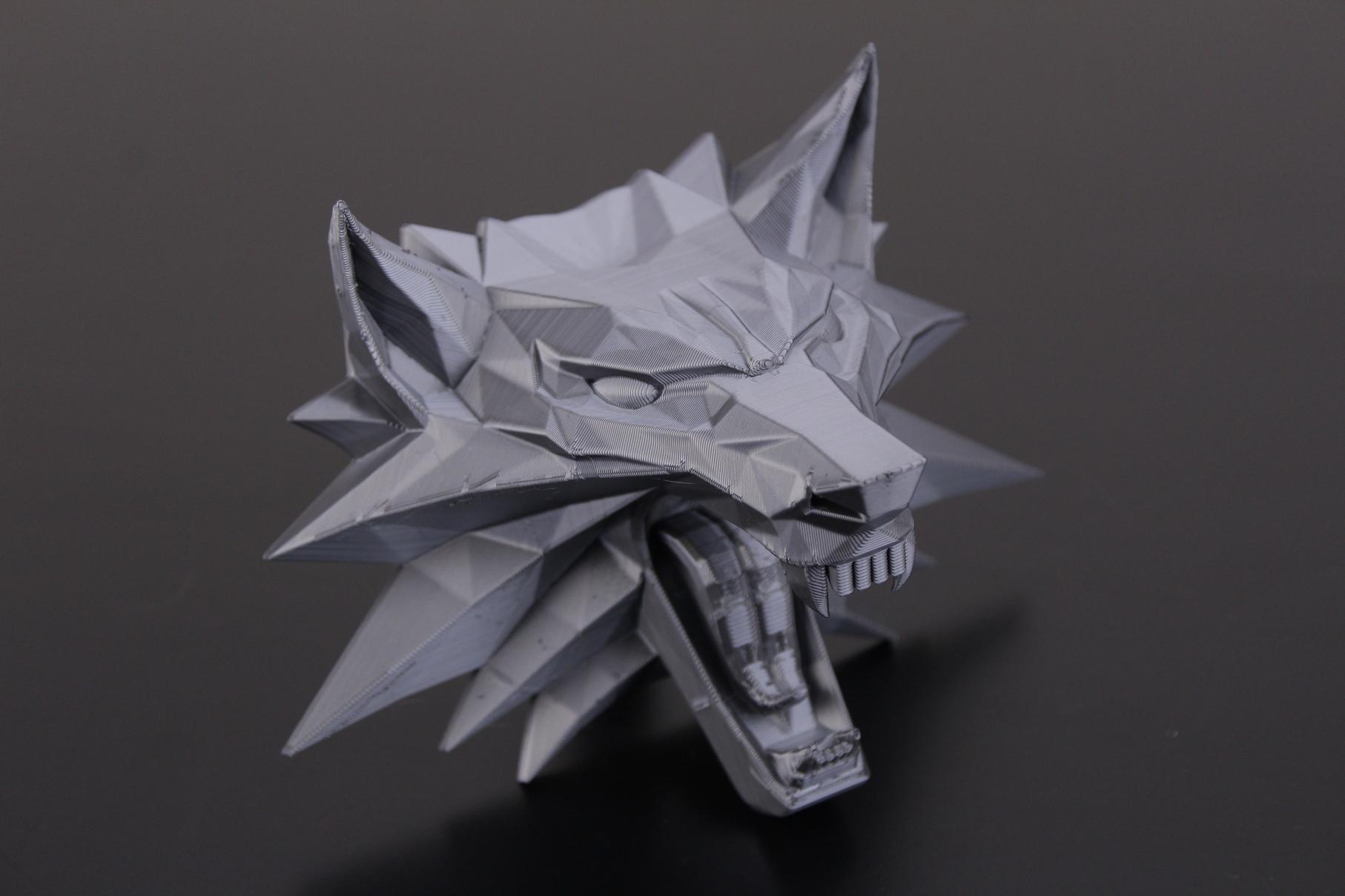 Witcher Wolf Medallion 1   Trianglelab Spiral Tower Hotend Review
