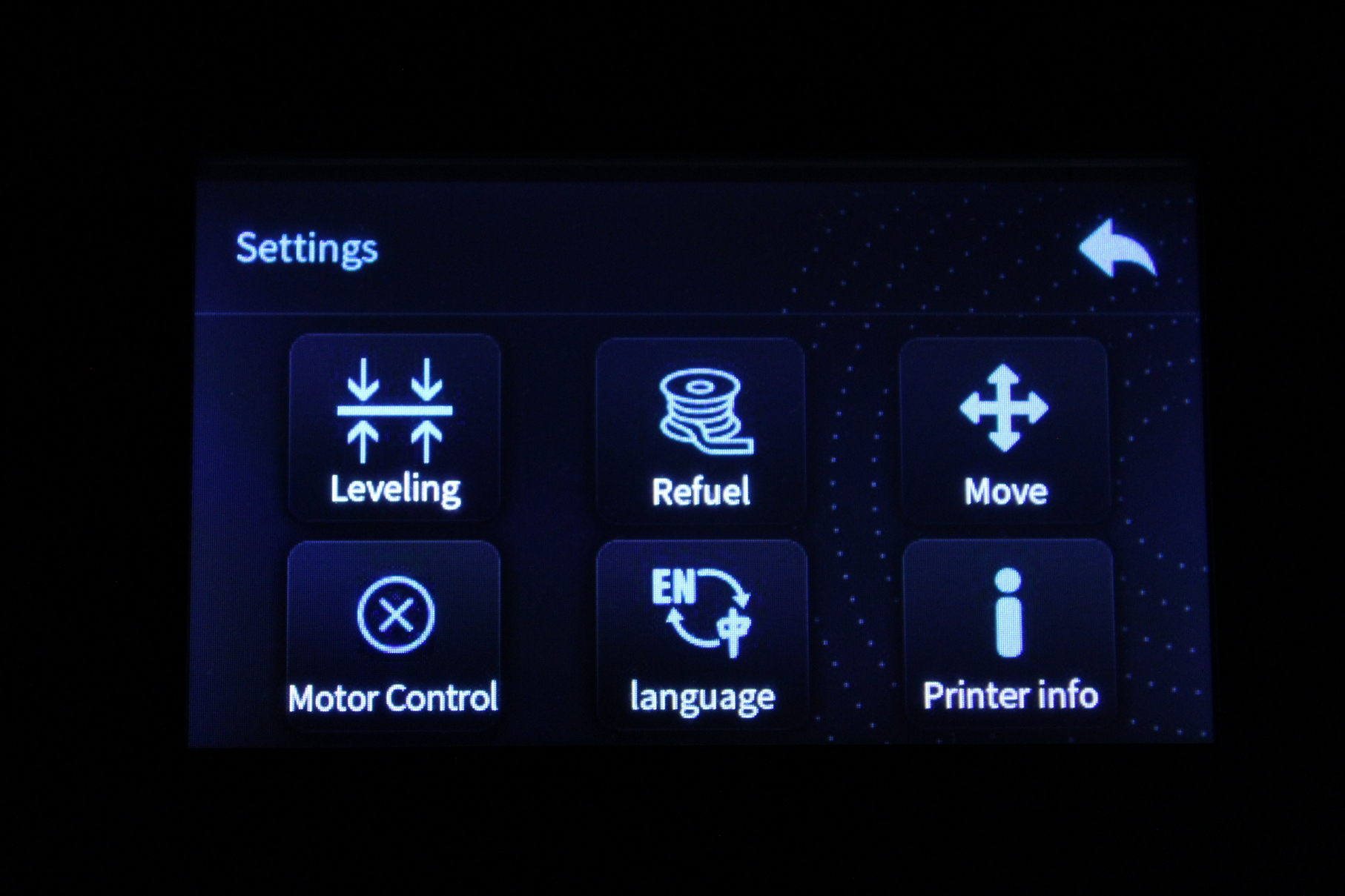Creality-Sermoon-D1-TFT-Screen-Interface-5