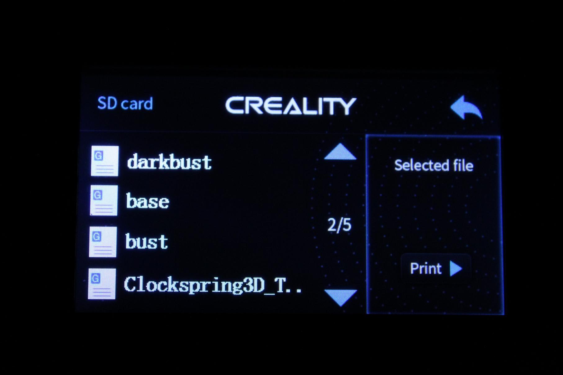 Creality-Sermoon-D1-TFT-Screen-Interface-9