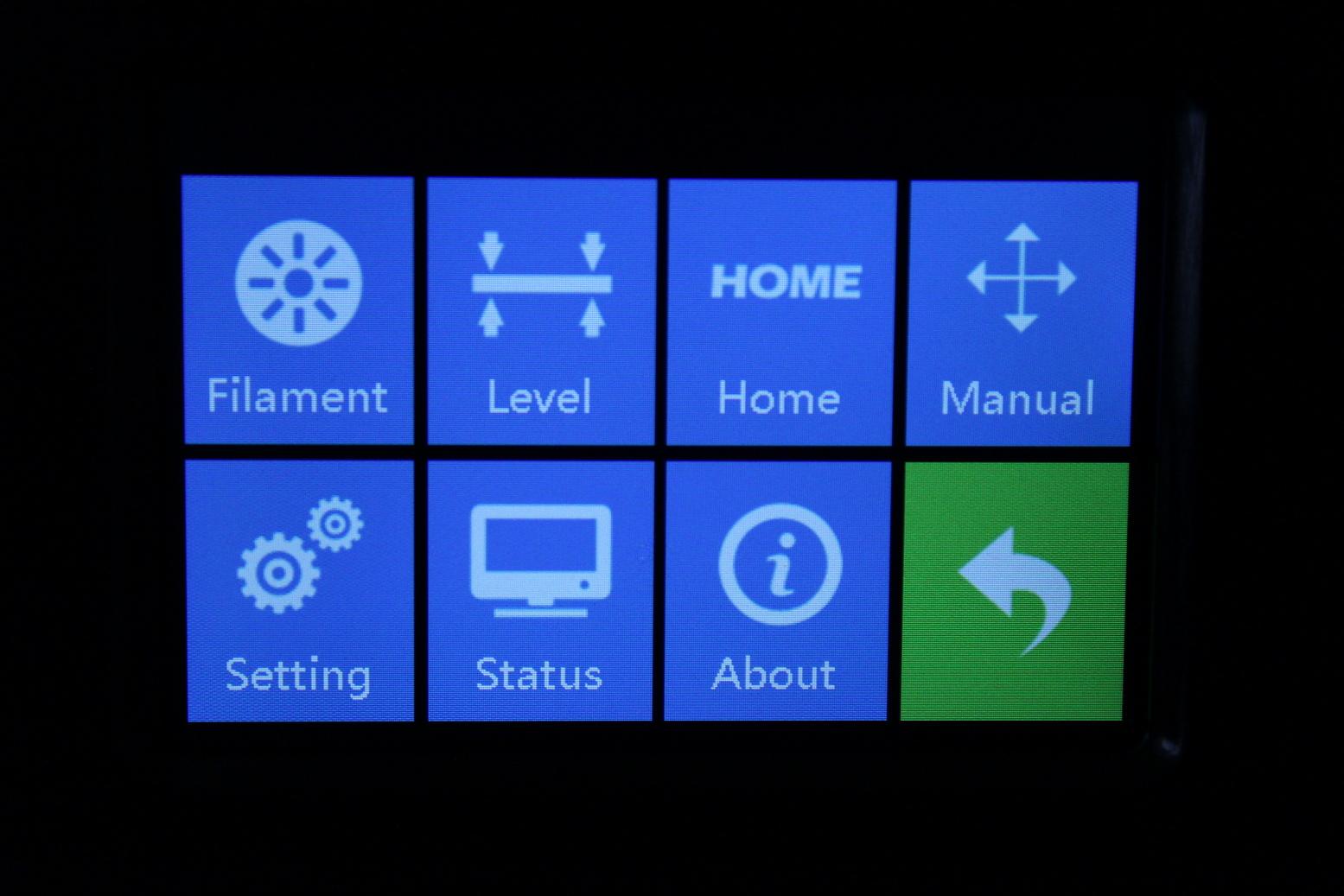 FlashForge-Creator-Pro-2-Touchscreen-Interface-6