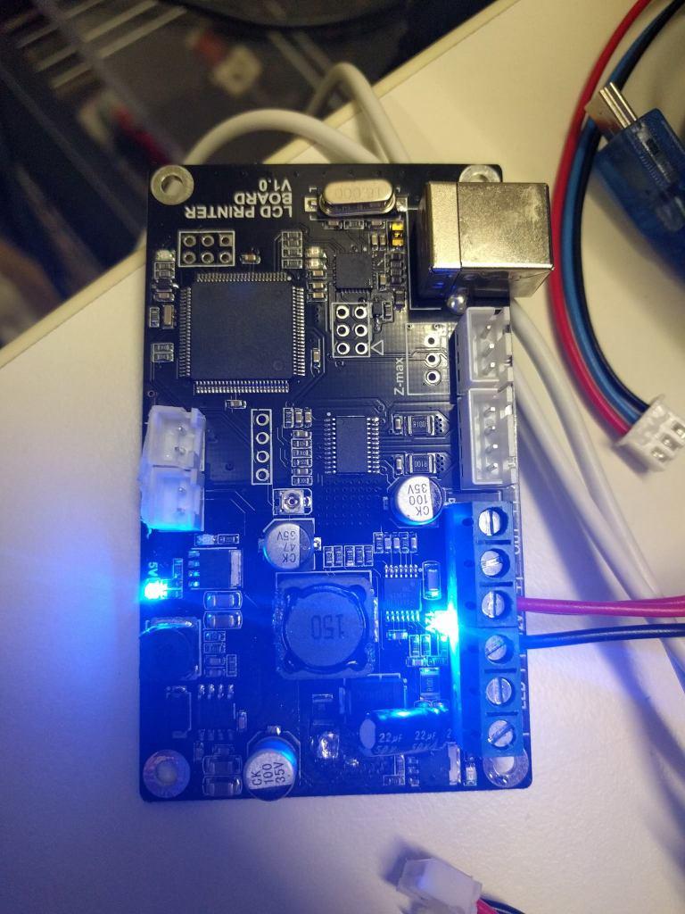 D7 Controller Board