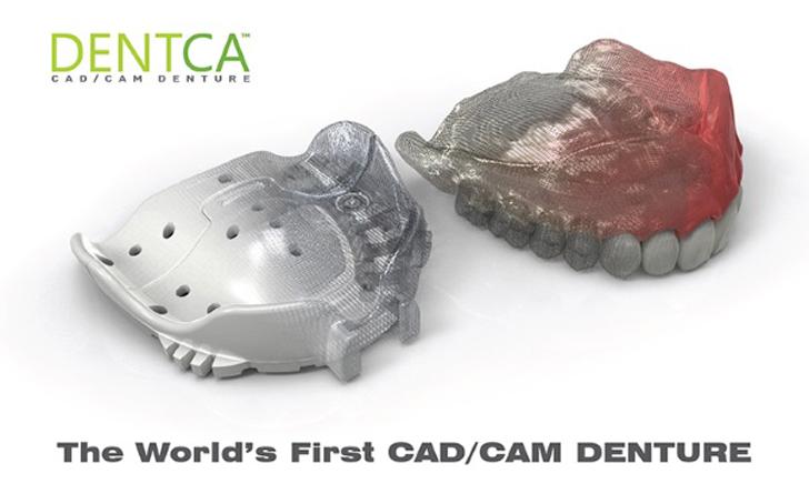 dentca 3D printed denture bases get FDA approval