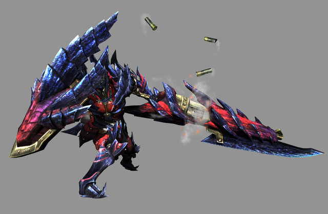 Monster Hunter Generation Weapon Choice, sourced from MyMiniFactory