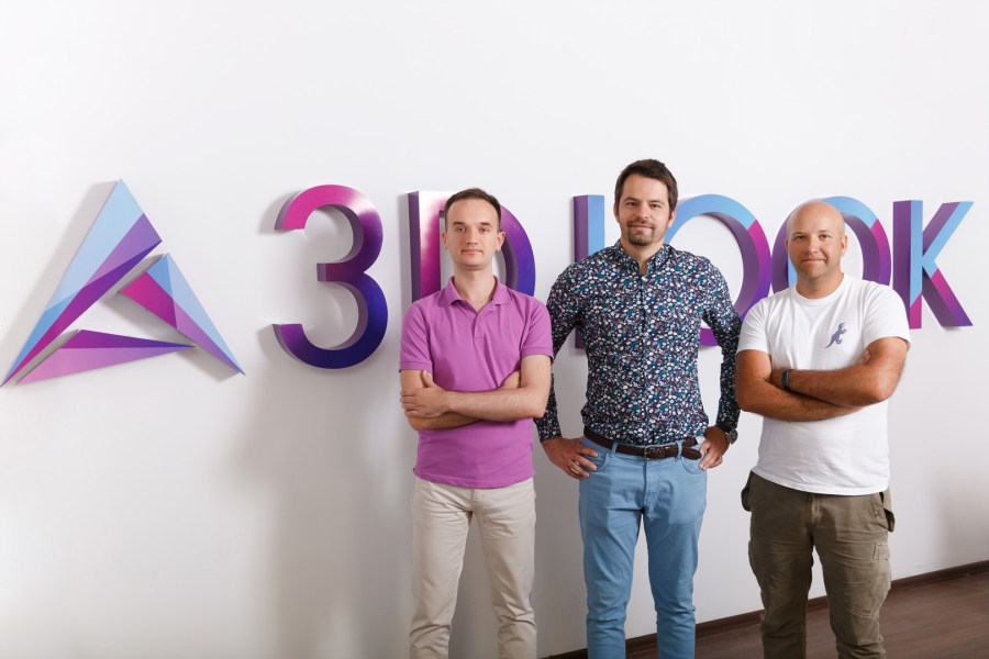 3DLOOK Co-Founders (left to right): Alex Arapovd, Vadim Rogovskiy, and Ivan Makeev.