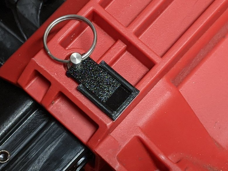 Packout Pin Latch Closed