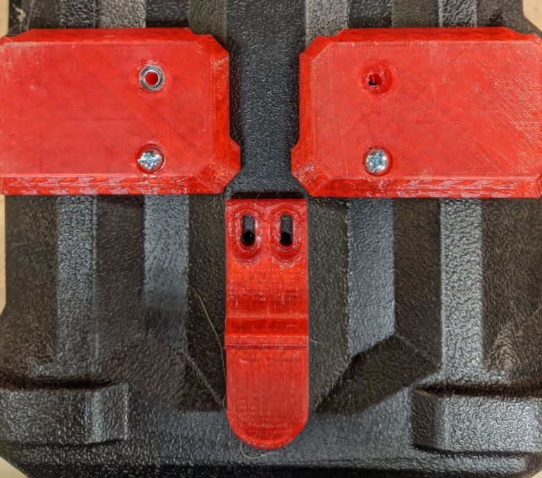 Milwaukee M18 Wet Dry Vacuum Packout Mounting Feet Latch Step