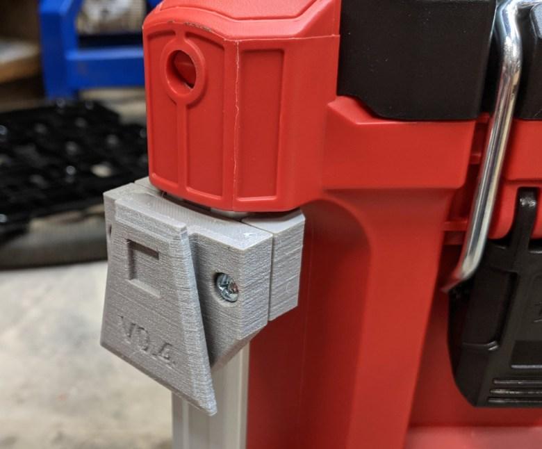 ToughBuilt ClipTech Tool Pouch Packout Rail Mount