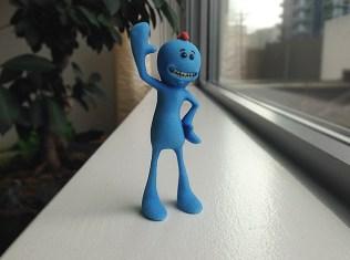 Mr. Meeseeks 3D Printed