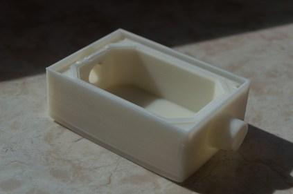 Box aus ABS mit Dichtung aus flexiblem Filament