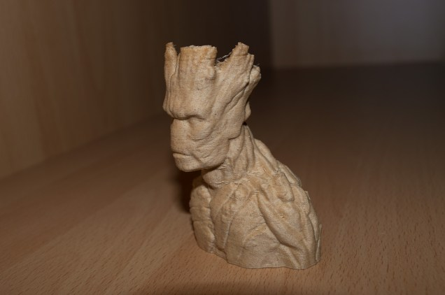 Wood-Filament lies sich ebenfalls gut verarbeiten