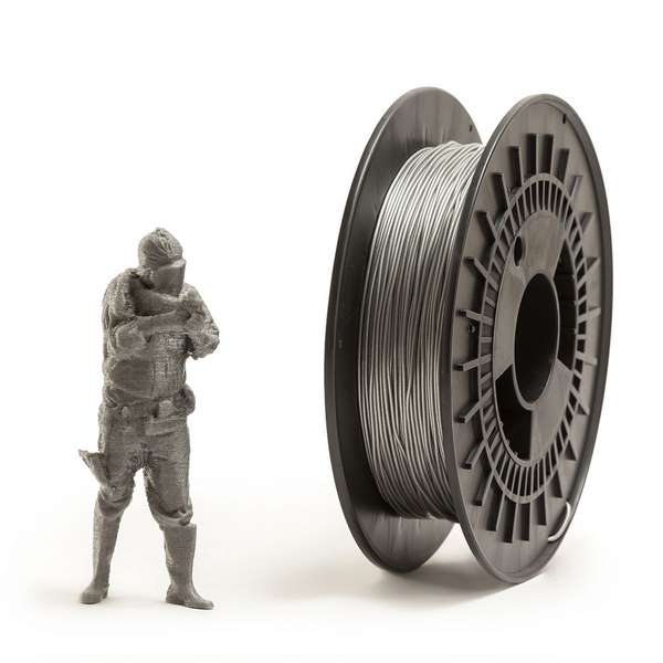 EUMAKERS FLEX filament Silver 2.85mm 500g