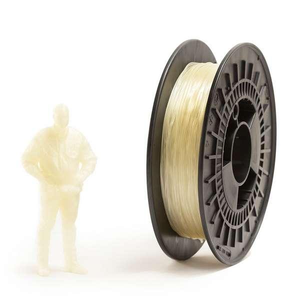 EUMAKERS FLEX filament Transparent 2.85mm 500g