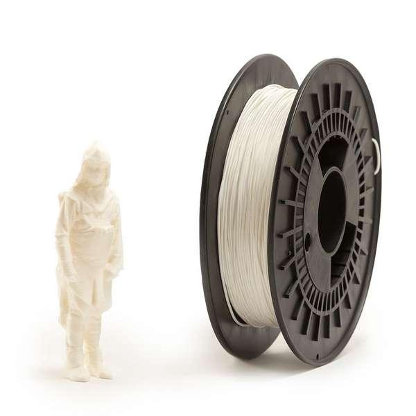 EUMAKERS FLEX filament White 2.85mm 500g