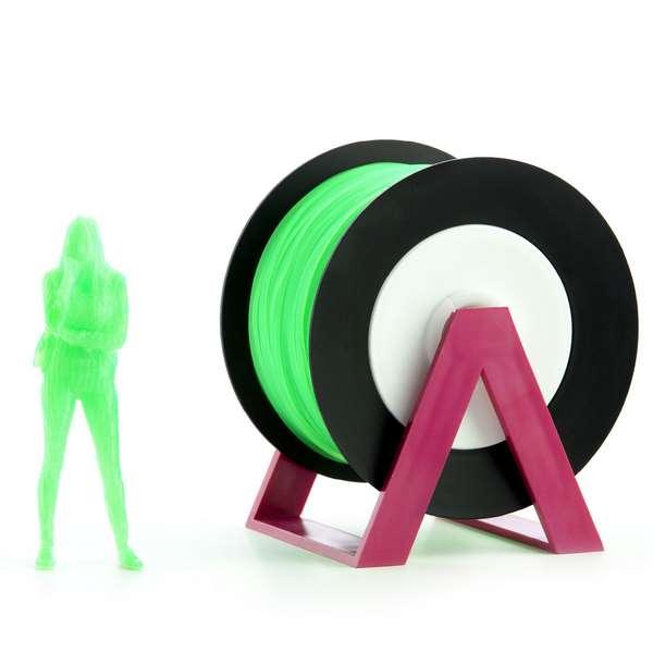 EUMAKERS PLA filament Fluorescent Green 1.75mm 1000g