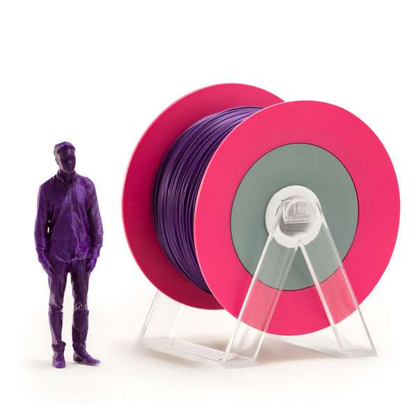 EUMAKERS PLA filament Glossy Violet 1.75mm 1000g