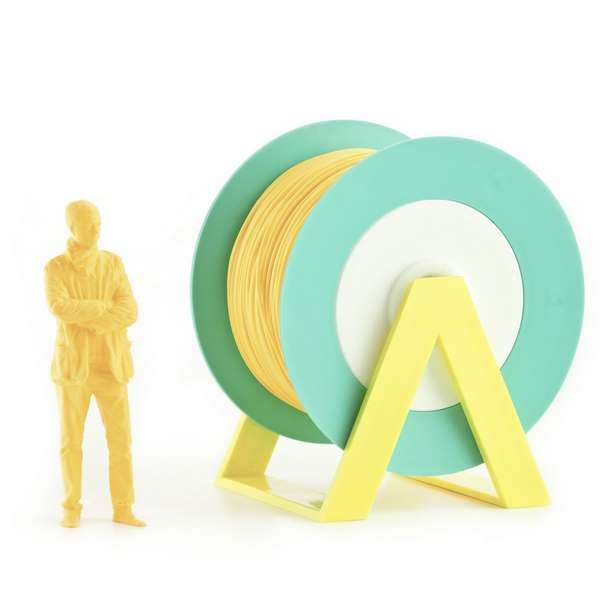 EUMAKERS PLA filament Pastel Orange 1.75mm 1000g