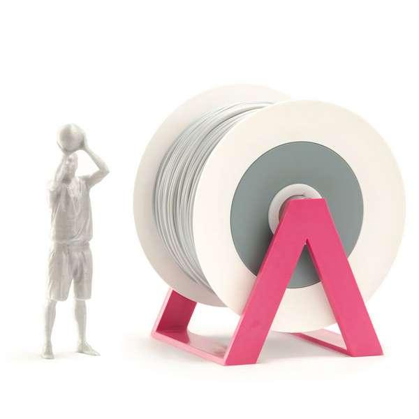 EUMAKERS PLA filament Aluminium 2.85mm 1000g