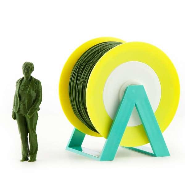 EUMAKERS PLA filament Dark Green 2.85mm 1000g