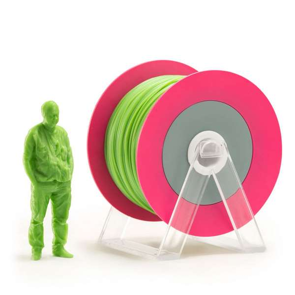 EUMAKERS PLA filament Glossy Green 2.85mm 1000g