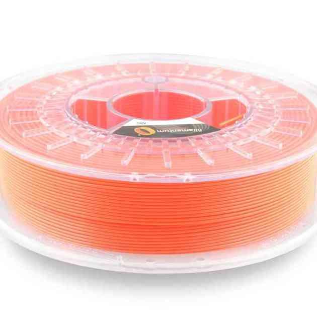 Fillamentum ABS Extrafill Luminous Orange 2.85mm 750g