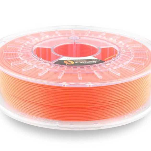 Fillamentum PLA Extrafill Luminous Orange 1.75mm 750g