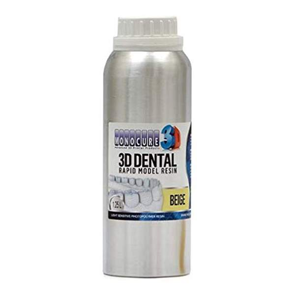 RAPID MODEL DENTAL Resin BEGIE 1250ml - Monocure3D