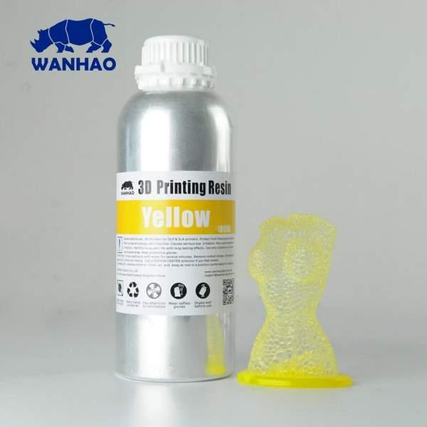 STANDARD UV Resin YELLOW 1000ml - WANHAO