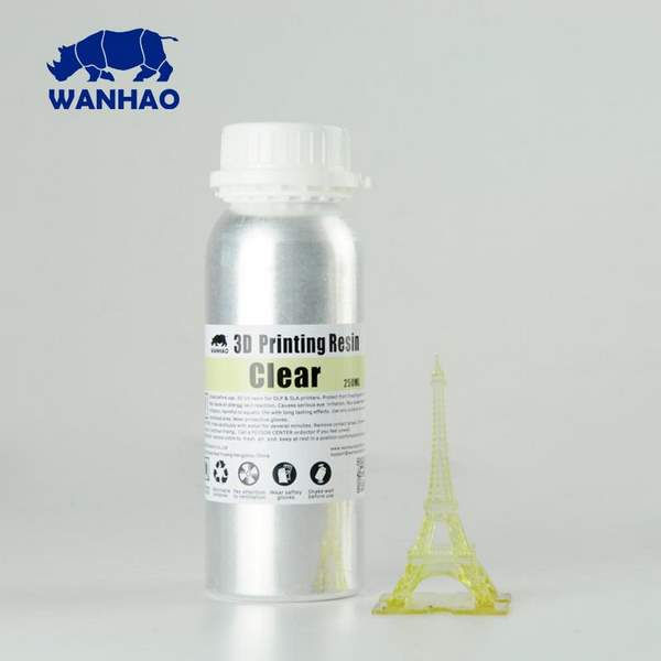 STANDARD UV Resin CLEAR 500ml - WANHAO