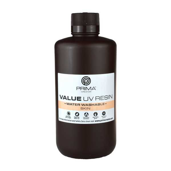 Water Washable UV DLP Resin SKIN 1000ml - PrimaCreator