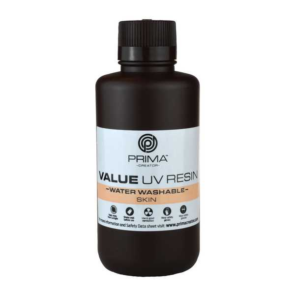 Water Washable UV DLP Resin SKIN 500ml - PrimaCreator