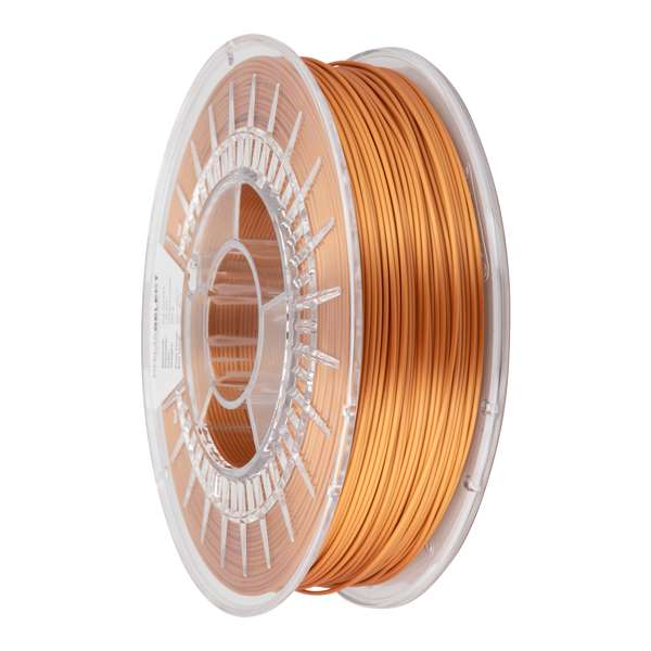 Glossy PLA filament Antique Copper 1.75mm 750g - PrimaSelect